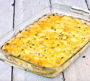 Chicken Cheesy Vegetable and Rice Casserole Recipe