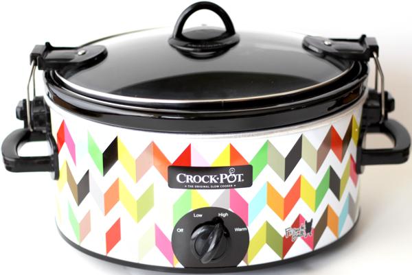 Crock Pot Peach Dump Cake Recipe | TheFrugalGirls.com