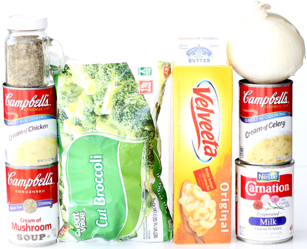 Crockpot Broccoli Cheese Soup Recipe with Velveeta
