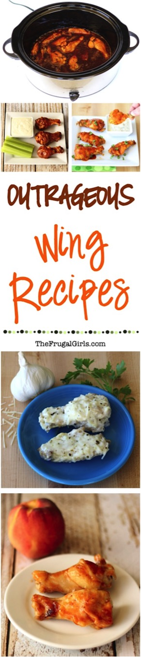 Crockpot Chicken Wing Recipes {Easy Party Wings} - TheFrugalGirls.com