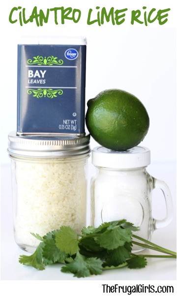 Cilantro Lime Rice Recipe from TheFrugalGirls.com