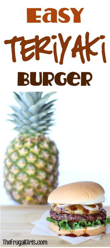 Teriyaki Hamburger Recipe from TheFrugalGirls.com