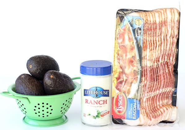 Bacon Avocado Ranch Grilled Chicken