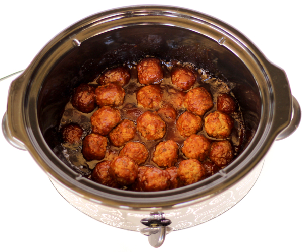 Crockpot BBQ Ranch Meatballs Recipe
