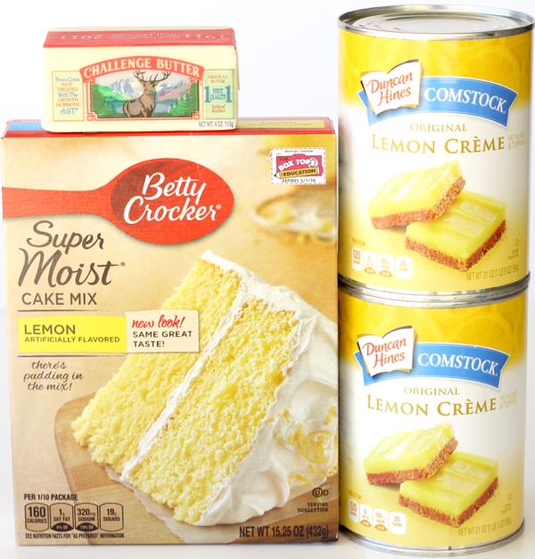 Crockpot Lemon Dump Cake Recipe | TheFrugalGirls.com