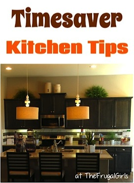 Kitchen Timesaver Tips