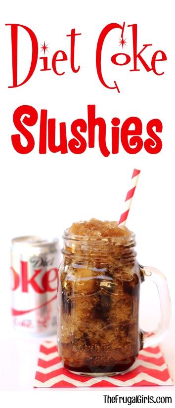 Diet Coke Slushies Recipe at TheFrugalGirls.com