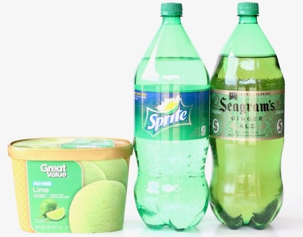 Lime Sherbet Punch Recipe with Sprite