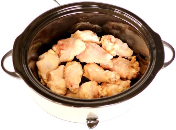 Crockpot Chicken Wings Recipe