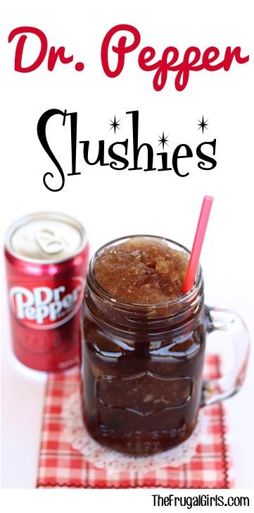 Dr. Pepper Slush Recipe at TheFrugalGirls.com