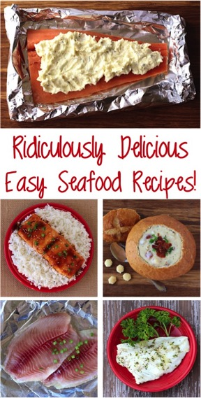 Easy Seafood Dinner Recipes from TheFrugalGirls.com