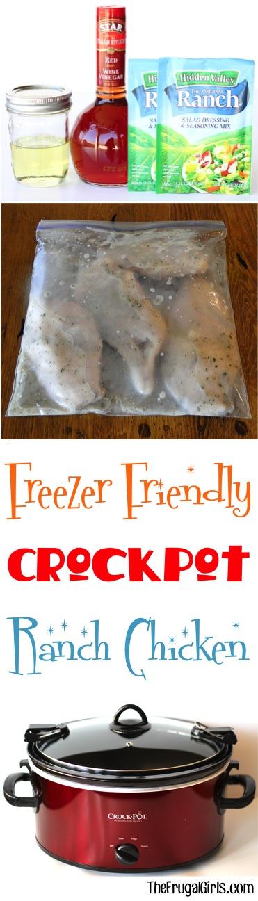 Crockpot Freezer Meal Recipe from TheFrugalGirls.com