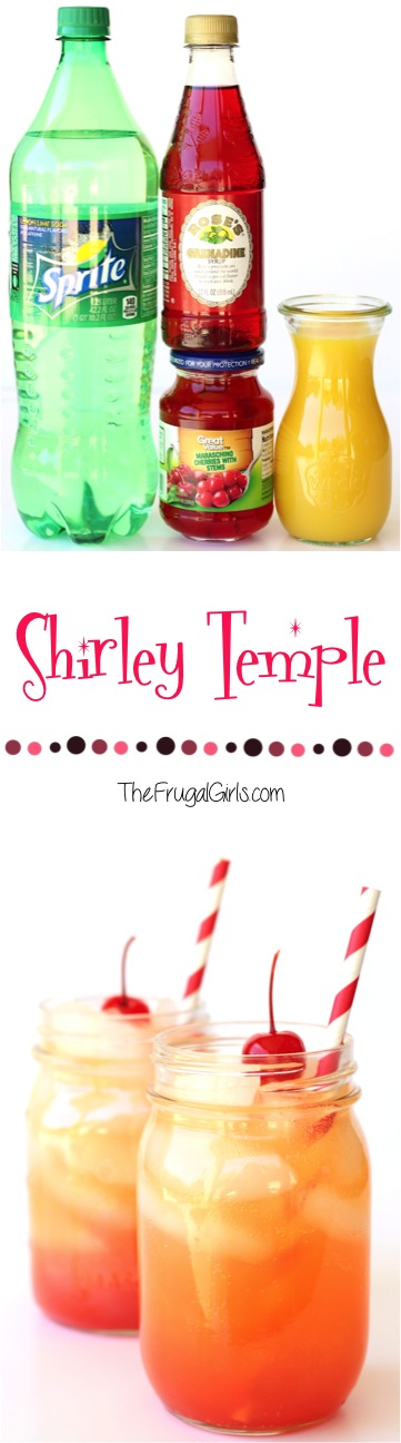 Shirley Temple Recipe at TheFrugalGirls.com