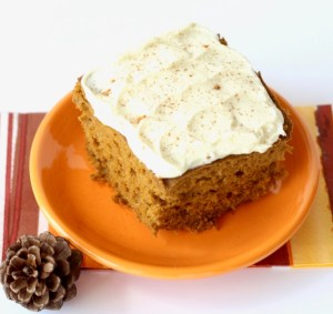 Crockpot Pumpkin Spice Cake Recipe