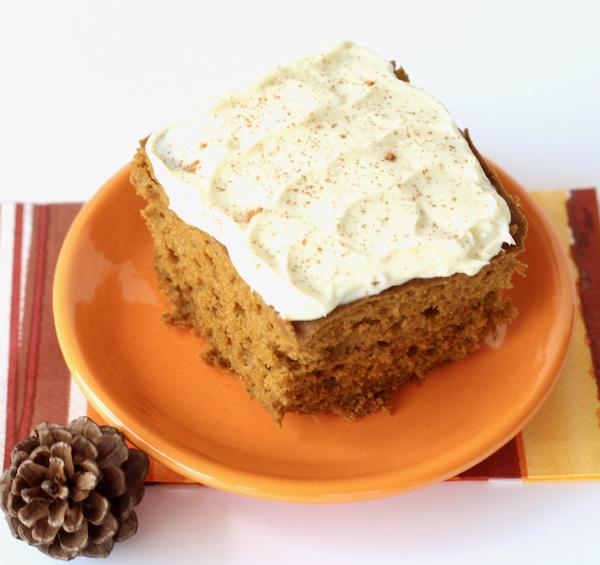 Crockpot Pumpkin Spice Cake Recipe