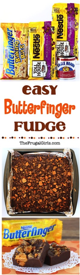 Butterfinger Fudge Recipe