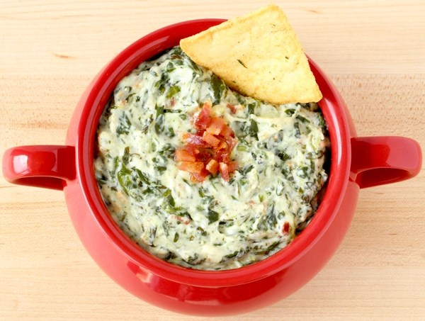 Crock Pot Spinach Dip Recipe with Bacon