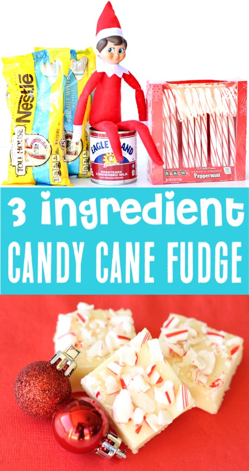 Fudge Recipes Easy Condensed Milk Christmas Candy Cane Fudge Recipe
