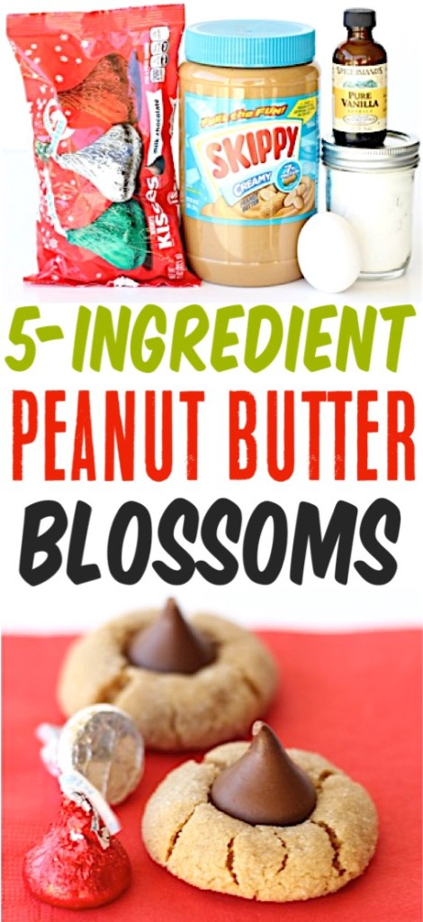 Peanut Butter Cookies Hershey Kiss Blossom Cookies