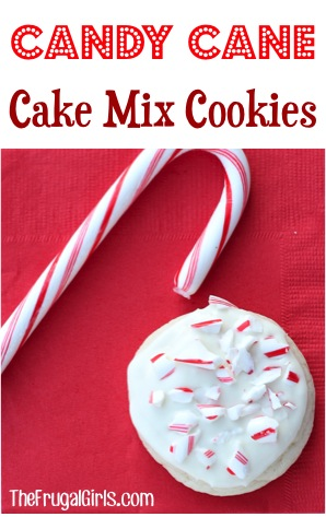 Candy Cane Cookie Recipe from TheFrugalGirls.com