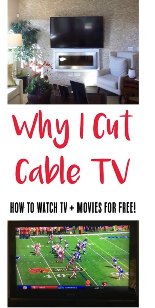 Cutting Cable TV! {How to Watch TV for Free} from TheFrugalGirls.com