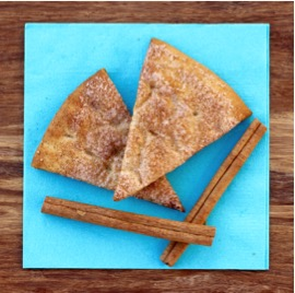 Cinnamon Sugar Pita Chip Recipe