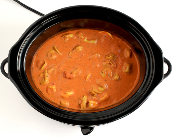 Crockpot Tomato Tortellini Soup Recipe