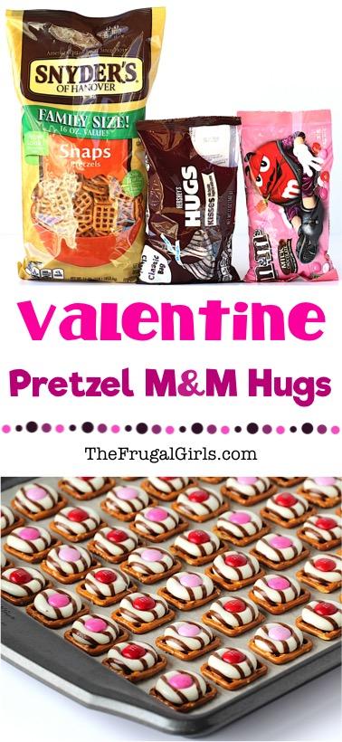 Valentine Pretzel Treats Recipe at TheFrugalGirls.com