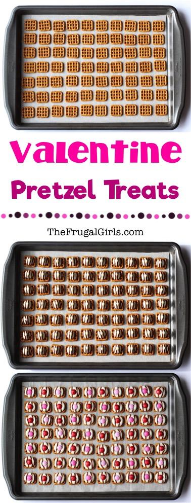 Valentine Pretzel Treats from TheFrugalGirls.com