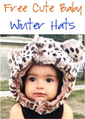 Free Cute Baby Winter Hats at TheFrugalGirls.com