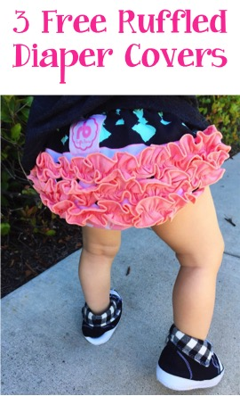 Free Ruffled Diaper Covers at TheFrugalGirls.com