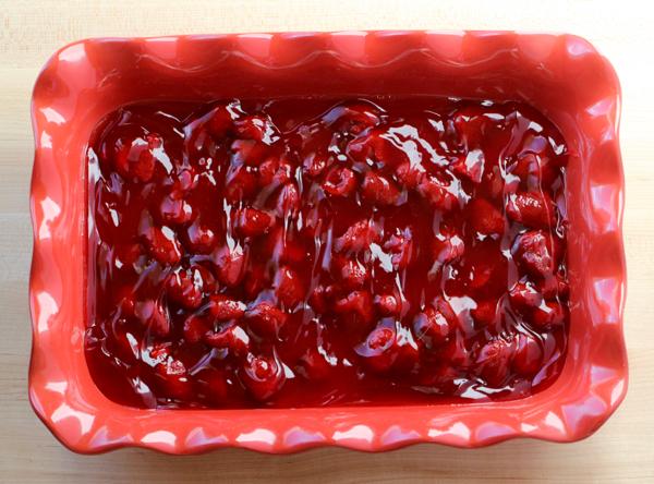 Best Strawberry Dump Cake Recipe | TheFrugalGirls.com