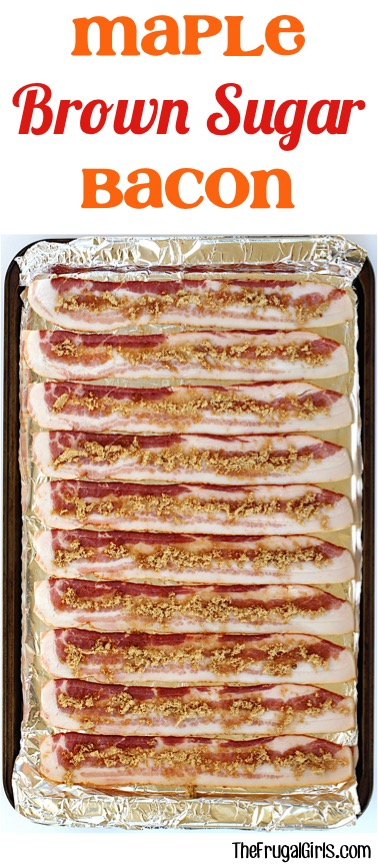 Brown Sugar Maple Bacon at TheFrugalGirls.com