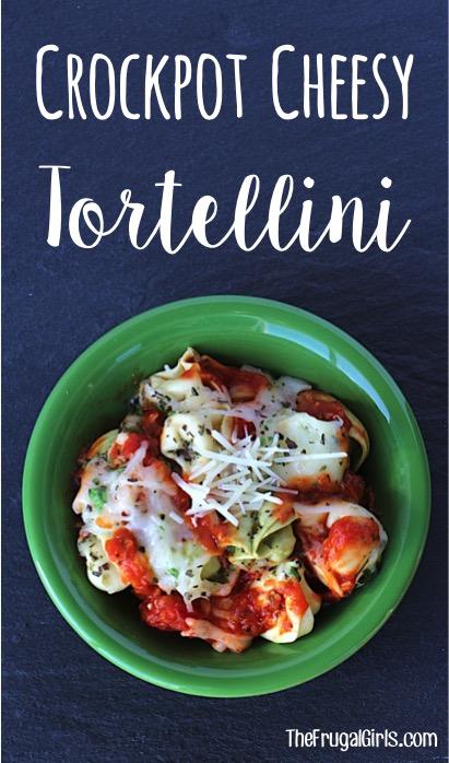 Crockpot Tortellini Cheese Recipe from TheFrugalGirls.com