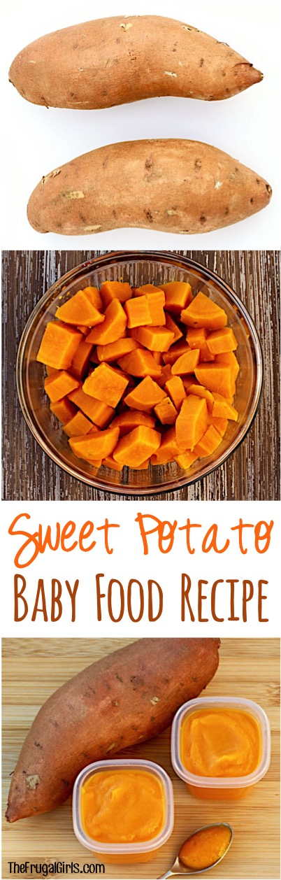 Homemade Baby Food Sweet Potato Recipe! {Easy First Food ...