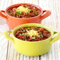 Easy Crockpot Chili Recipe {BEST Chili Ever!!}