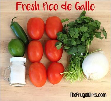 Fresh Pico de Gallo Salsa Recipe - TheFrugalGirls.com