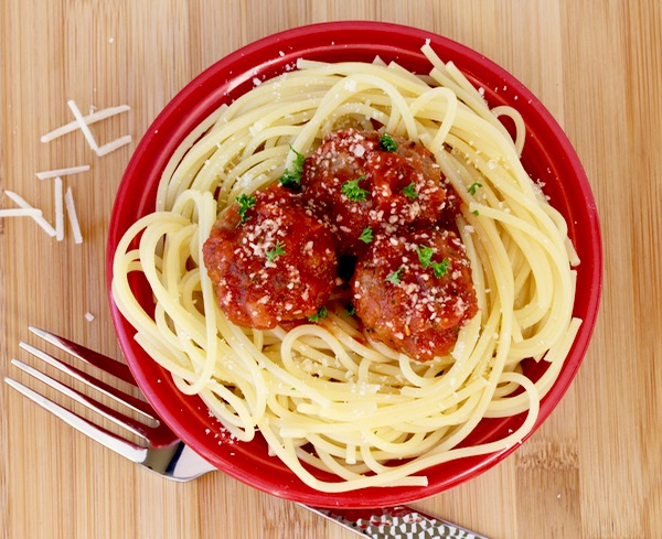 Crockpot Italian Meatball Recipe from TheFrugalGirls.com