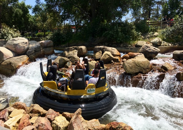 Knotts Berry Farm Big Foot Rapids Ride Plus More Top 10 Rides at TheFrugalGirls.com