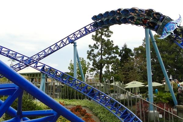 Sea World San Diego Rides Manta Roller Coaster