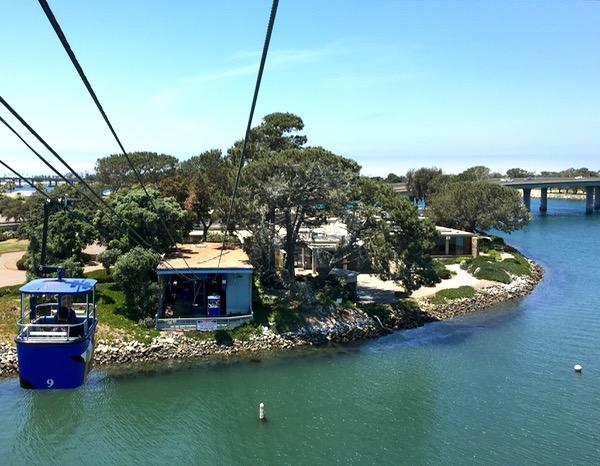 SeaWorld Rides Bayside Skyride