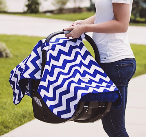 Free Carseat Canopy Cover | TheFrugalGirls.com