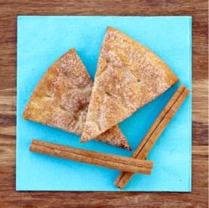 Cinnamon Sugar Pita Chip Recipes at TheFrugalGirls.com