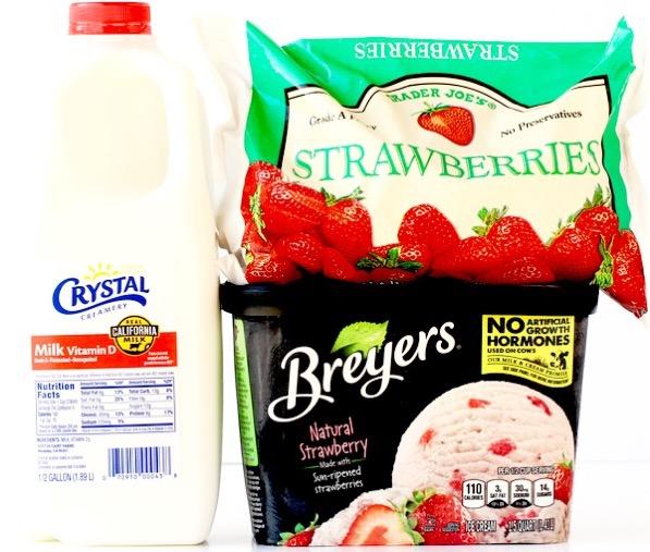 Strawberry Milkshake Recipe Easy