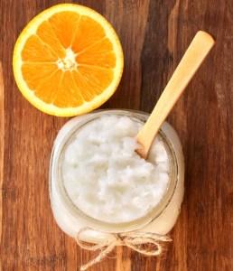 DIY Orange Sugar Scrub Recipe