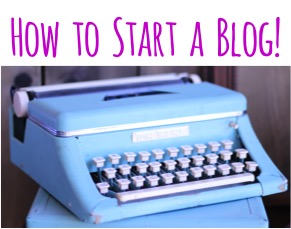 How to Start a Blog - Tips from TheFrugalGirls.com