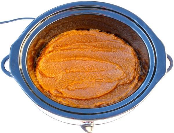 Slow Cooker Pumpkin Butter Recipe from TheFrugalGirls.com