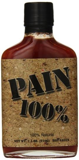 Pain 100% Hot Sauce