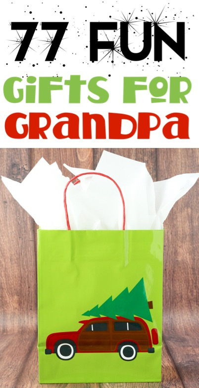Christmas Gifts for Grandparents or Dad