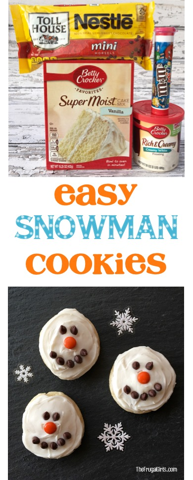 easy-snowman-cookies-recipe-cake-mix-cookies-from-thefrugalgirls-com